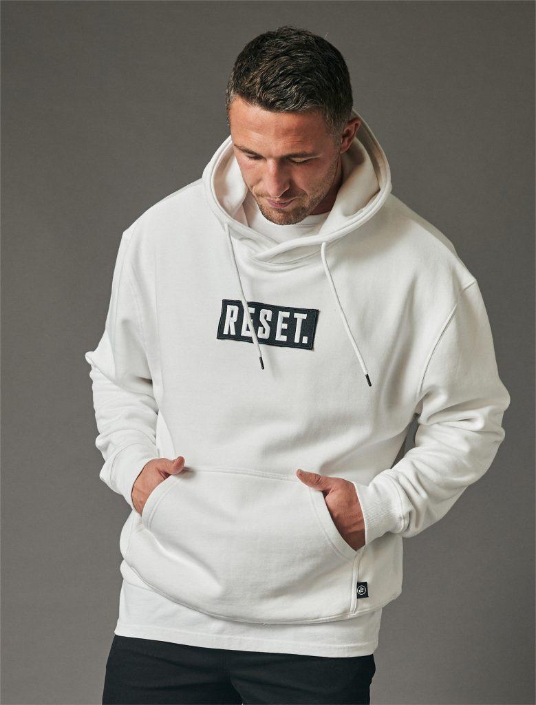 Reset Oversized Hoodie White