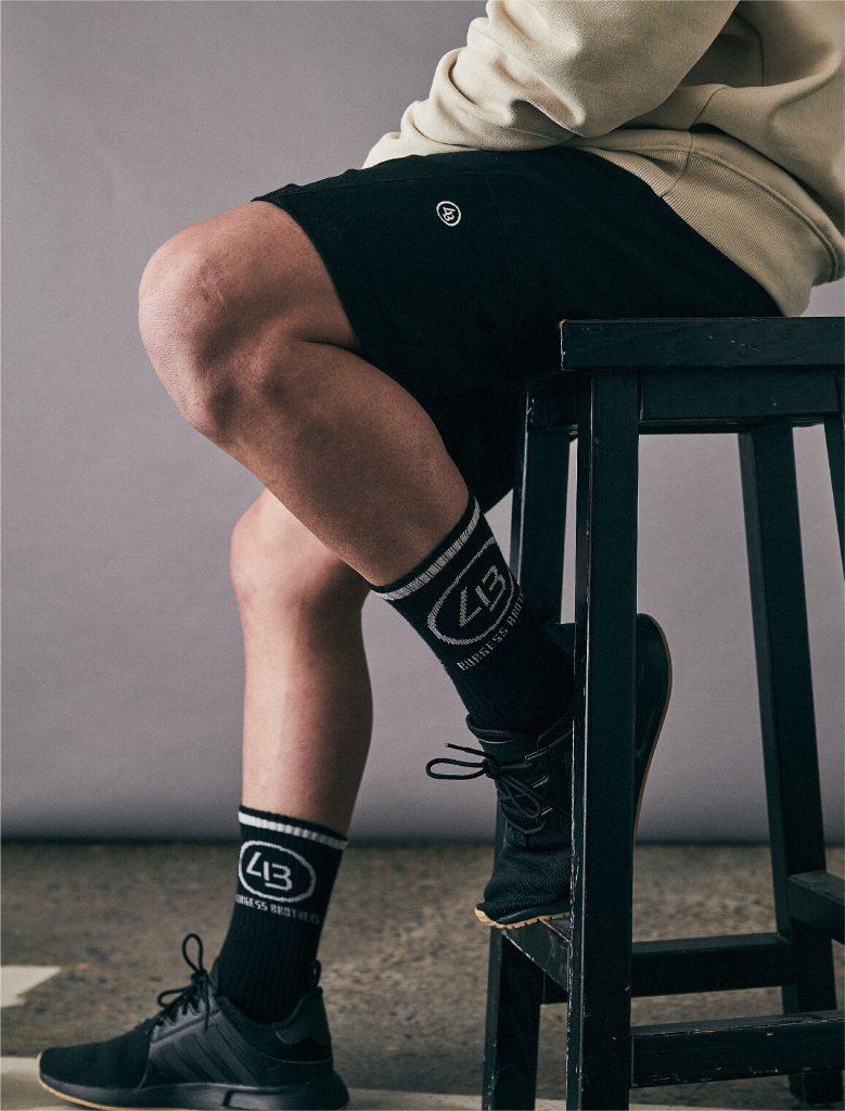 4B Training Socks Black